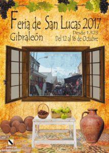 Cartel Feria de San Lucas 2017