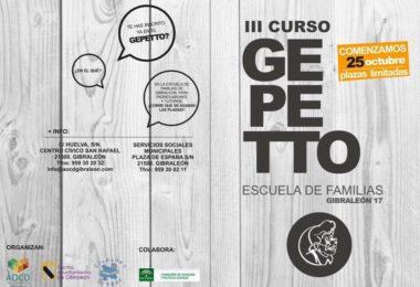 La Escuela de Familia Gepetto alcanza su tercera edición