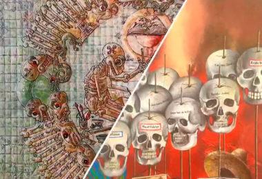 Muertos, vivos en la historia