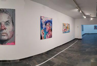 Visita al LXIX Certamen Nacional de Pintura de Gibraleón